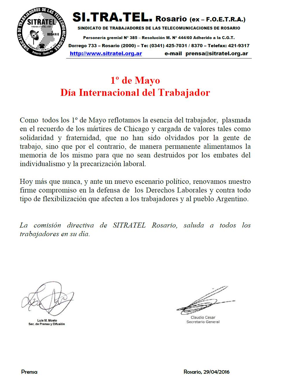 día internacional