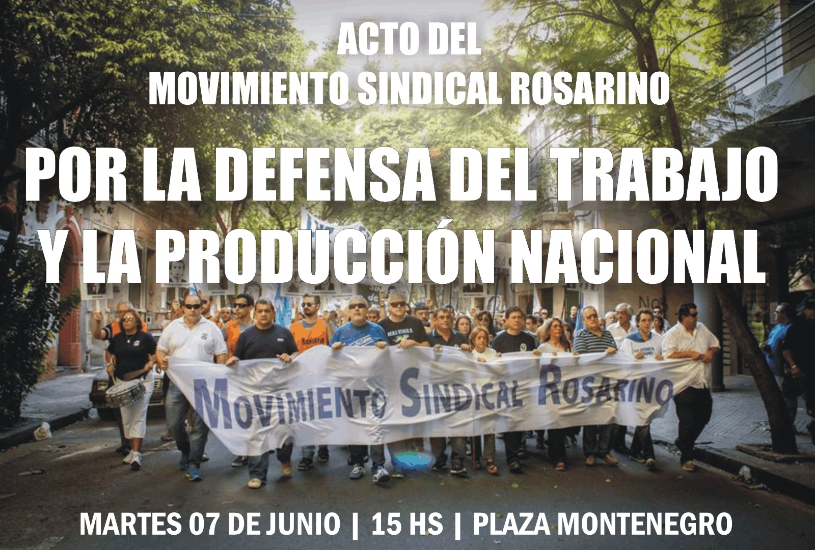 movimiento sindical rosarino