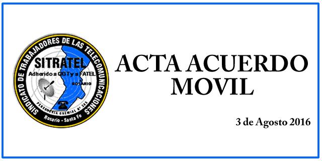 ACTA ACUERDO- MOVIL 2016