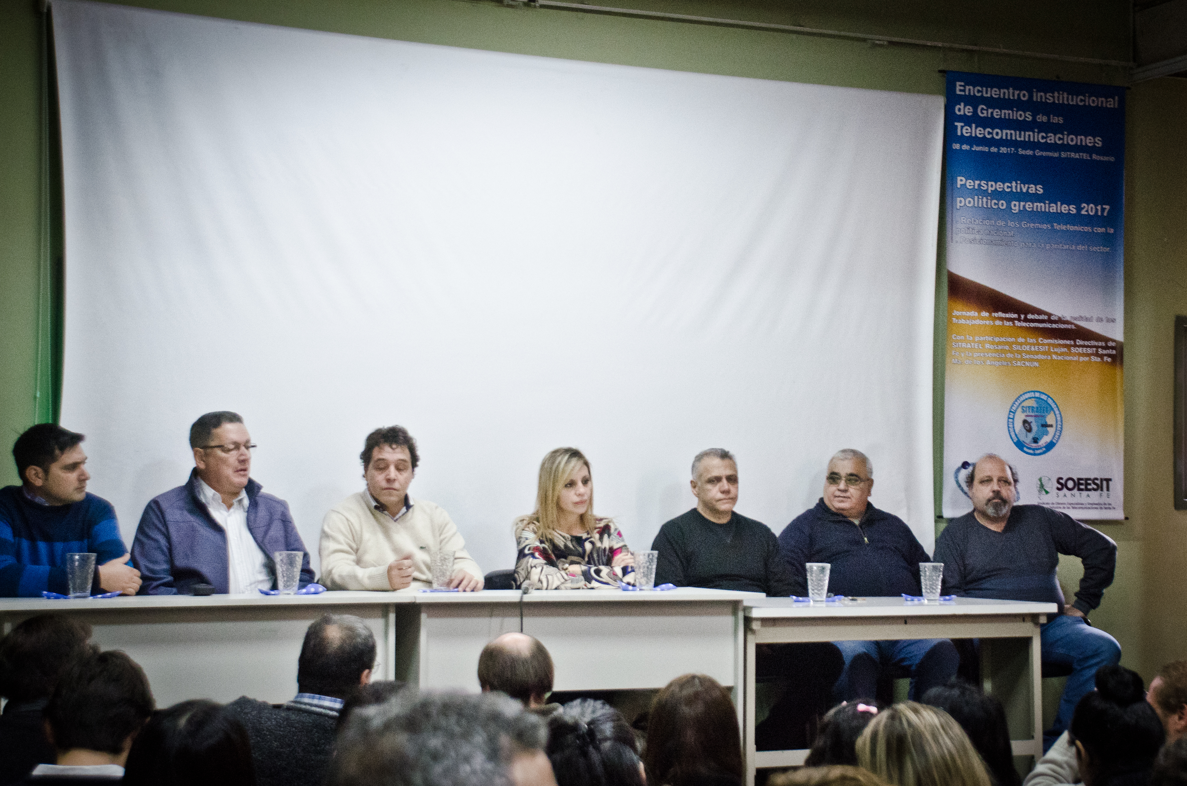Ley de Bonos de Ganancias – La Senadora Nacional Marilin Sacnun disertó en Sitratel