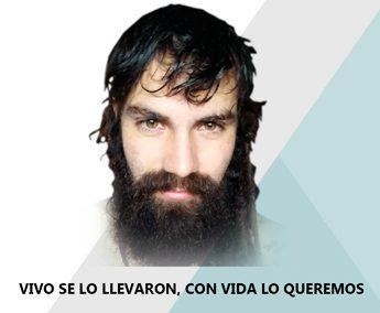 Exigimos aparición con vida de Santiago Maldonado