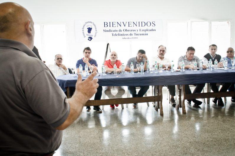 Sesionó el Plenario de Secretarios Generales de FATEL en Tucumán