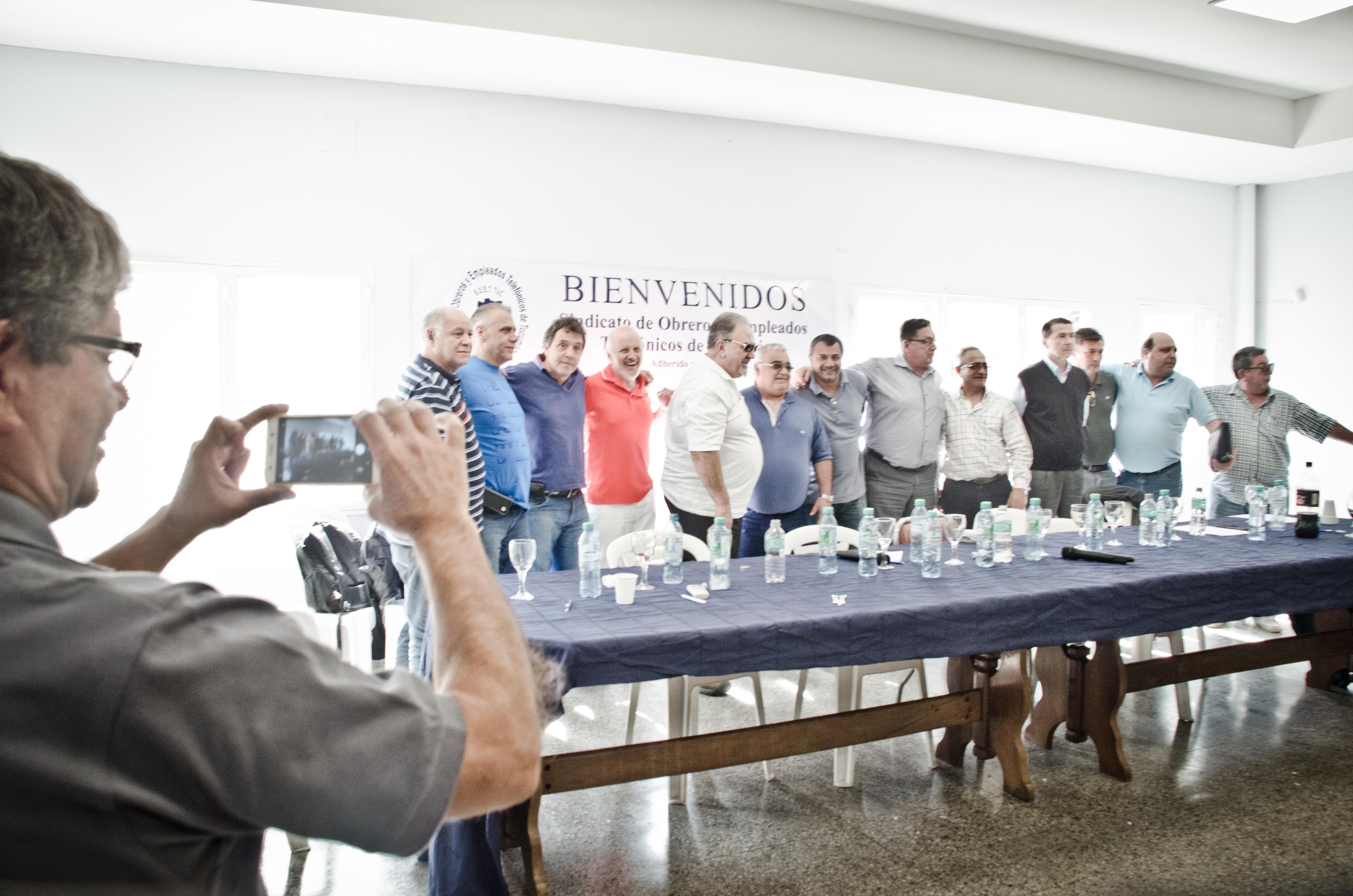 Plenario de Secretarios Generales de FATEL en Tucumán