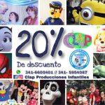 Nuevo Beneficio: descuentos en animaciones infantiles