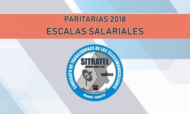 ESCALAS SALARIALES 2018