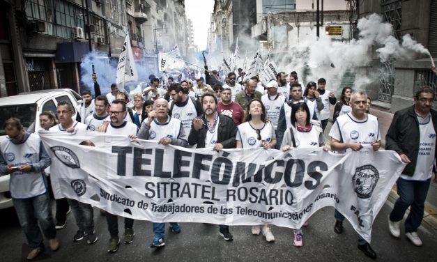 EL 19 / 12, MOVILIZAMOS A TELECOM POR NUESTRO SALARIO