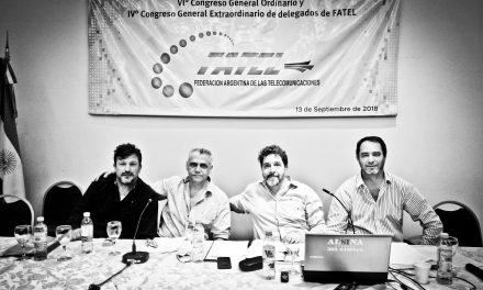 Sesionaron el VIº Congreso ordinario y IVº extraordinario de FATTEL