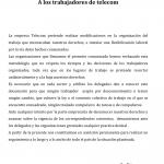 Comunicado Conjunto de FATTEL – Foesitra.