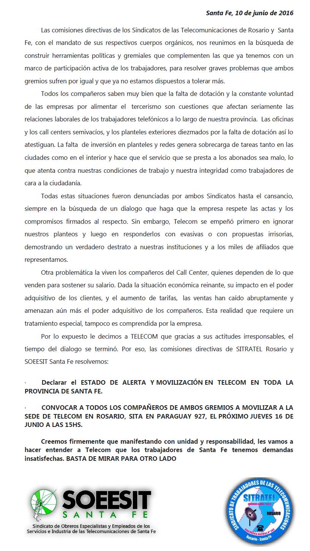 Documento SITRATEL SOEESIT