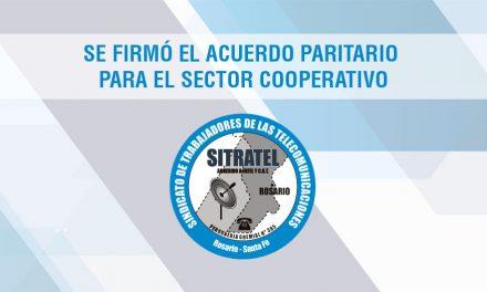 Se firmó el Acuerdo Paritario para el Sector Cooperativo