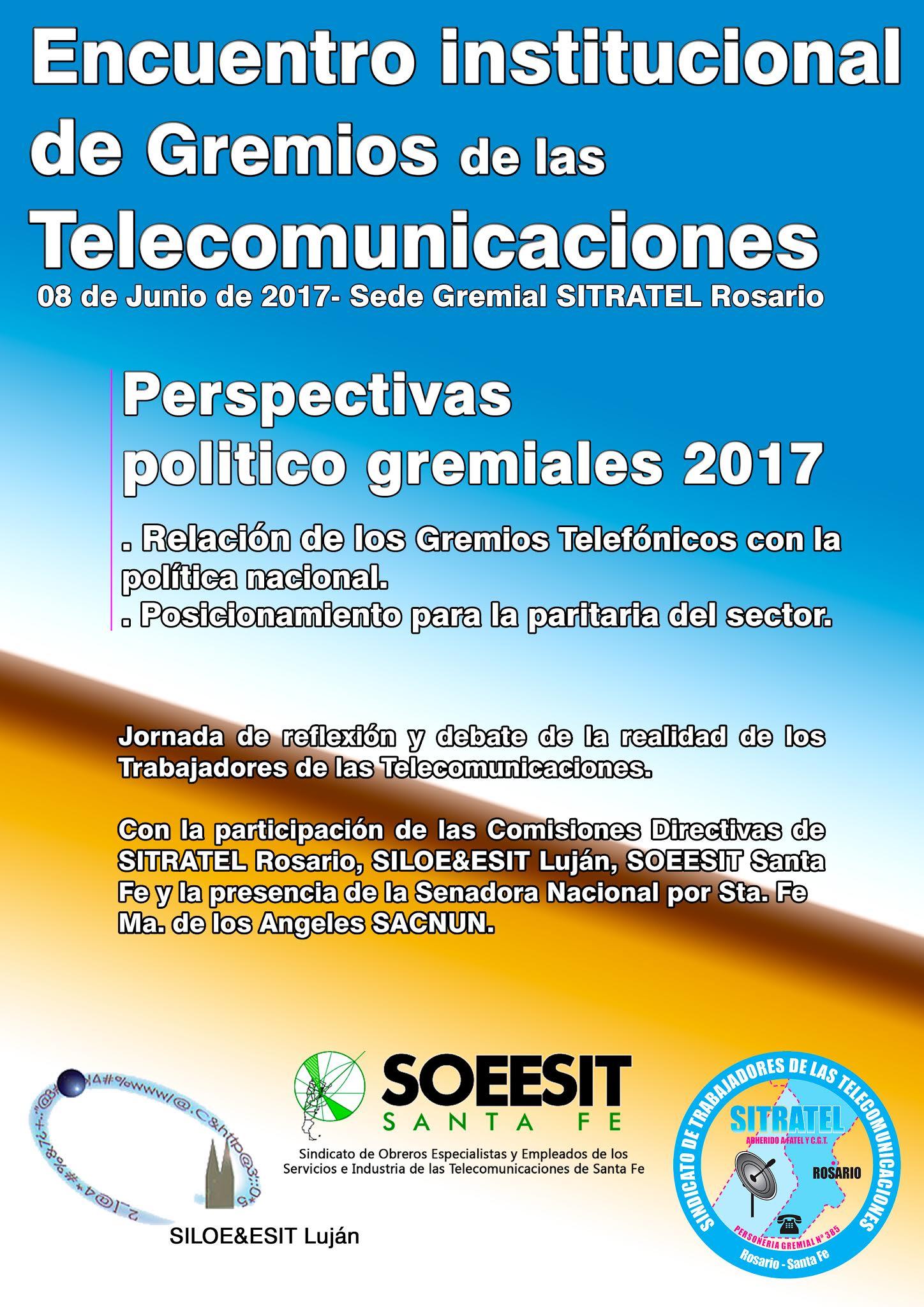 Encuentro institucional de Gremios de las Telecomunicaciones