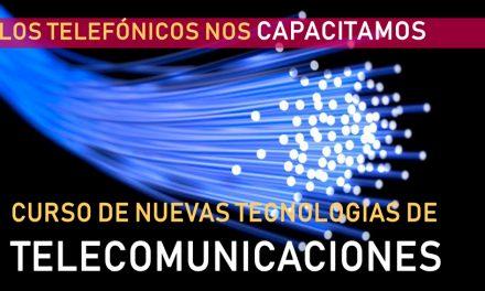 Capacitación gratuita en Nuevas Tecnologías de Telecomunicaciones