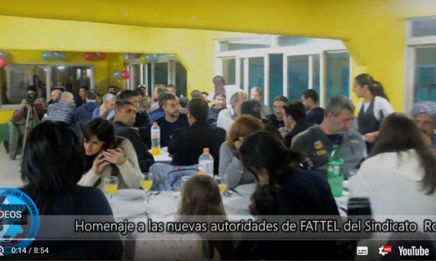 Homenaje a las Nuevas autoridades de FATTEL de Rosario