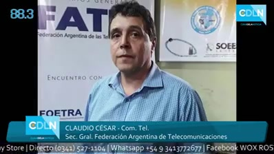 Entrevista Radial a Claudio Cesar