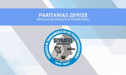 PARITARIA 2019/20. ESCALAS SALARIALES FATTEL –  MÓVIL