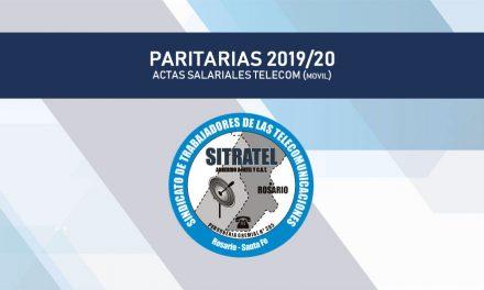 Paritaria 2019/20 – Actas Telecom (Móvil)
