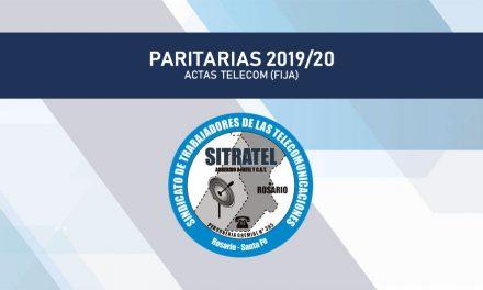 Paritaria 2019/20 – Actas Telecom (Básica)