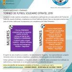 TORNEO DE FUTBOL SOLIDARIO SITRATEL 2019