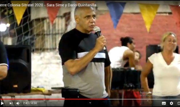 Colonia SITRATEL 2020 – Discurso de Cierre de Sara Sime y Dario Quintanilla