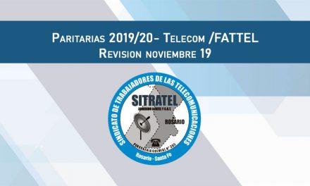 Paritarias 2019-20. Revisión Noviembre 2019