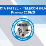 PARITARIA 20/21: Acta FATTEL- TELECOM (FIJA)
