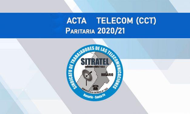Paritarias 20-21 – Actas Telecom (CCT)