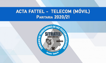 Paritarias 20-21 – Actas FATTEL – Telecom (MOVIL)