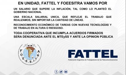Comunicado FATTEL – FOEESITRA: A todos los trabajadores de cooperativas