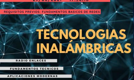 Se viene un nuevo curso: Tecnologías Inalámbricas