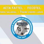 Paritaria 2021  – Acuerdo FATTEL – FECOTEL