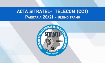 PARITARIAS 20-21 último tramo – ACTAS TELECOM (CCT)