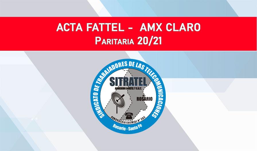 PARITARIAS 20-21 – ACTAS FATTEL -AMX Claro